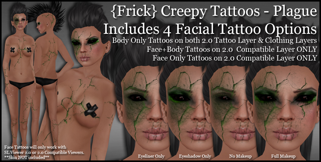 """shoulder face tattoo"". Creepy. Very creepy. Halloween at Frick"
