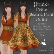 {Frick} Petite Beatriz Print Outfit