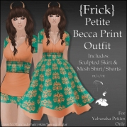 {Frick} Petite Becca Print Outfit