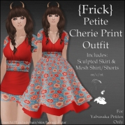 {Frick} Petite Cherie Print Outfit