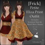 {Frick} Petite Eliza Print Outfit