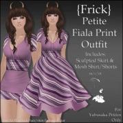 {Frick} Petite Fiala Print Outfit
