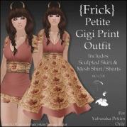 {Frick} Petite Gigi Print Outfit