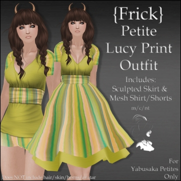 {Frick} Petite Lucy Print Outfit