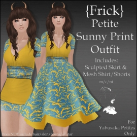 {Frick} Petite Sunny Print Outfit