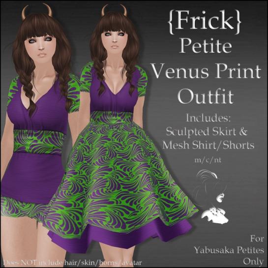 {Frick} Petite Venus Print Outfit