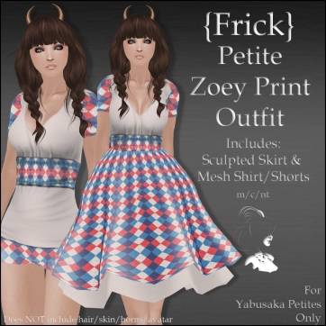 {Frick} Petite Zoey Print Outfit